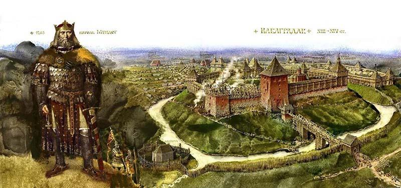 Современная Белоруссия раньше называлась Литвой,