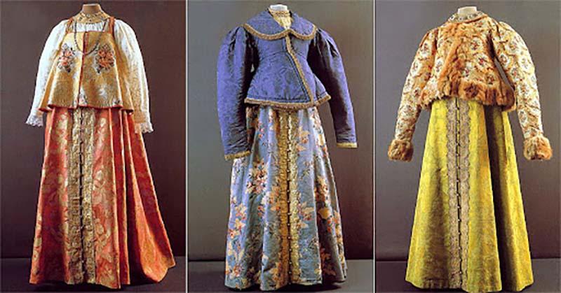 Узоры на одежде многое говорили о своей владелице