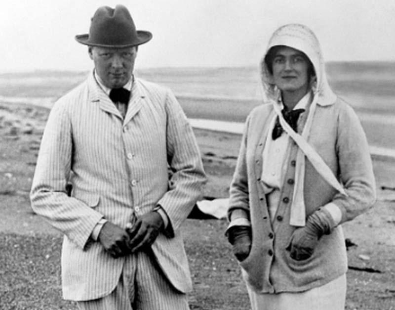 Сохранение репутации Черчилля  Клементина всегда поддерживала своего супруга