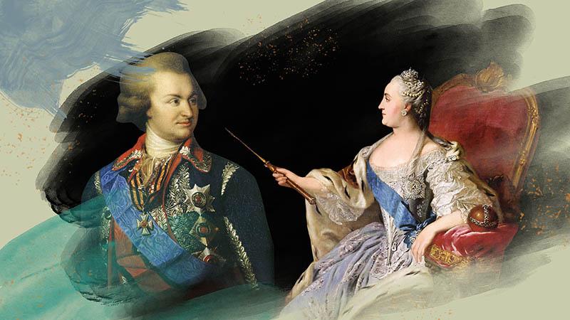 Граф Орлов — красавец и фаворит императрицы Екатерины II.