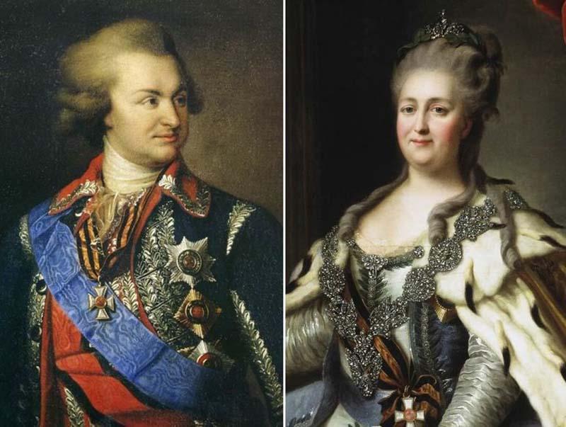 Императрица Екатерина Великая в жизни  Графа Орлова