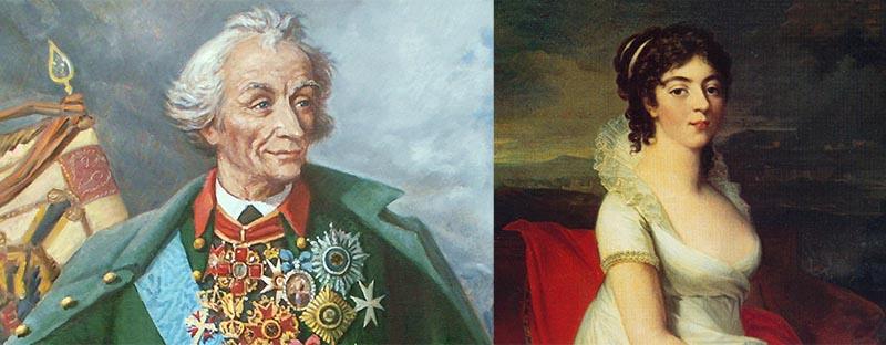 Суворов даже смог полюбить свою жену, хоть она и была его абсолютной противоположностью
