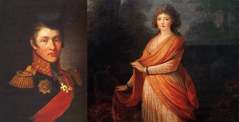 Суворов  и княгиня Варвара Прозоровская