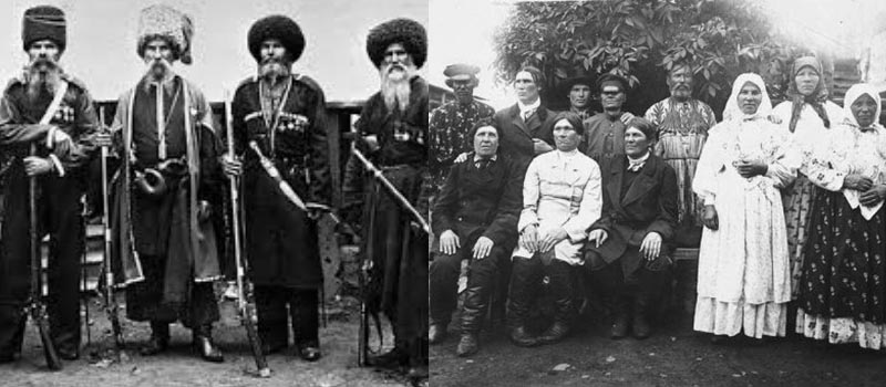 В годы Гражданской войны многие казаки, которые сражались против большевиков, оказались за пределами русского государства.