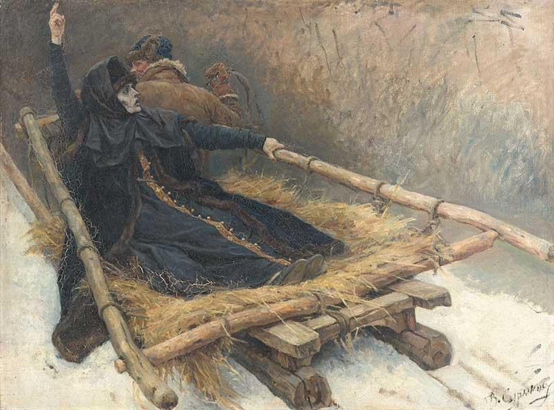 Боярыню Морозу звали Феодосия Прокопьевна