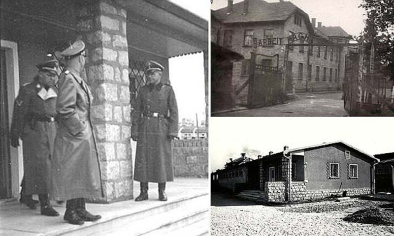 Сам Герхард являлся основным палачом в лагерях