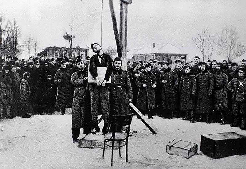 ротивники снимали не только Зою, но и других советских граждан.
