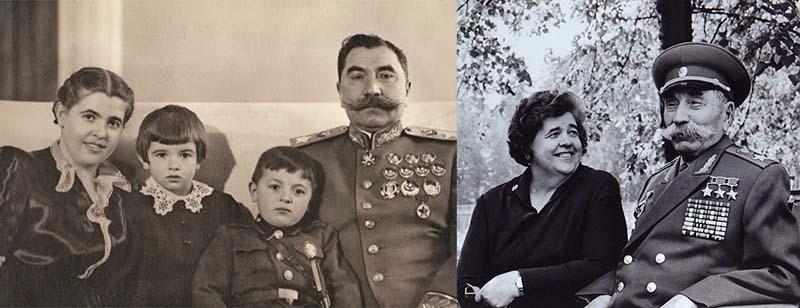 Буденный с третьей женой — Марией Васильевной, которая была двоюродной сестрой Ольги
