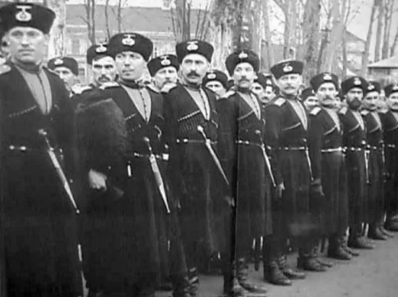 На гитлеровской стороне в ВОВ войну воевало большое количество казаков