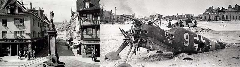 Адольф Гитлер запланировал бомбежку в целях пропаганды