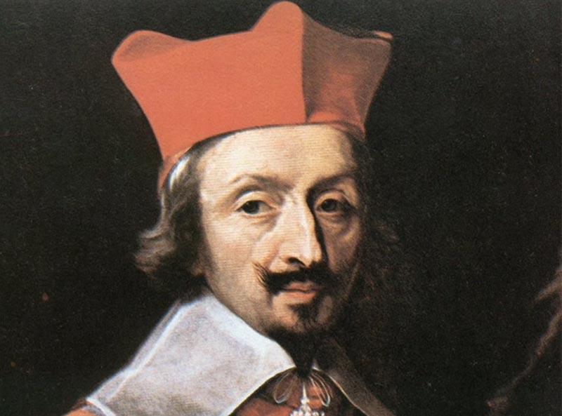 Арман-Жан дю Плесси де Ришелье известен всем как «Красный кардинал».