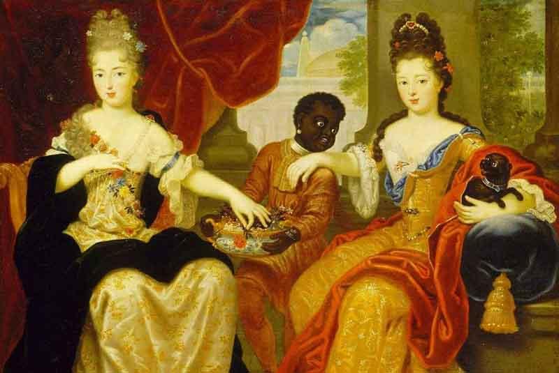 В результате через некоторое время Мария родила дочку, и, как следовало ожидать, темнокожую