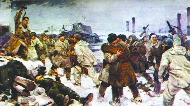 В 1944 году снова советские военные перешли в наступление, которое уже оказалось наиболее удачным.