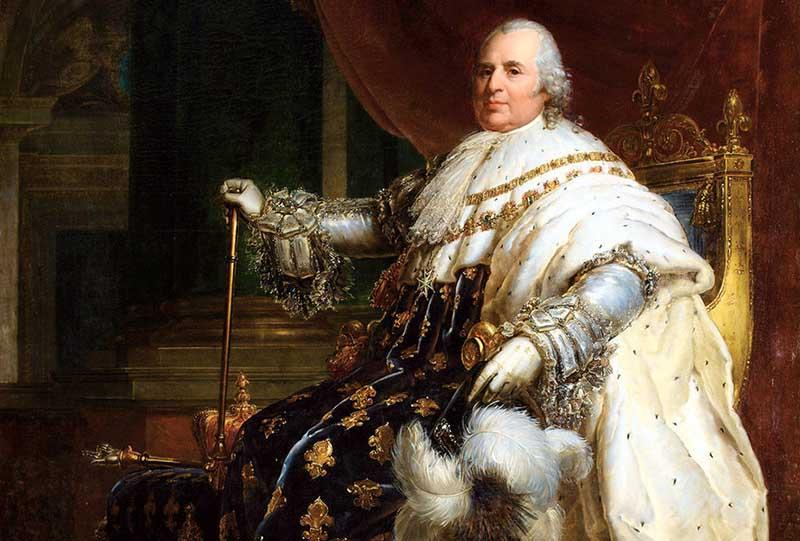 Король Франции Людовик XVIII