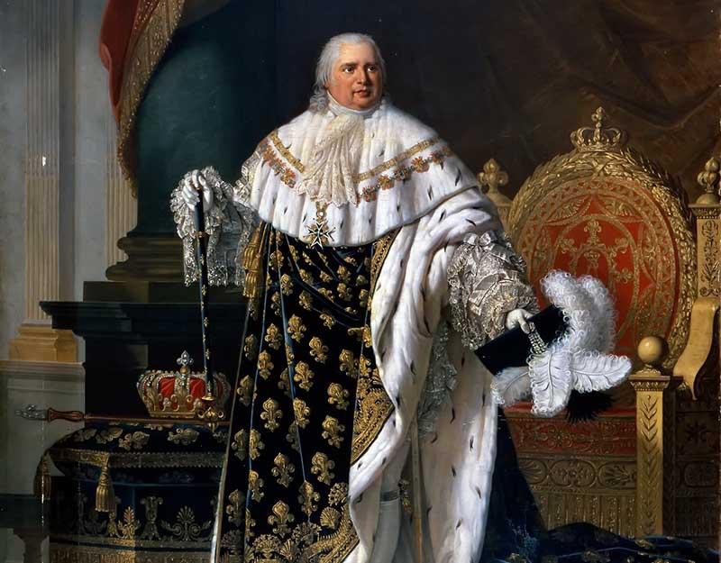Король Франции Людовик XVIII воспользовался им не сразу, а тогда, когда его попросили уехать из Варшавы, где он скрывался до этого момента.