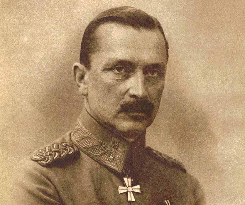 Густав Маннергейм — офицер, служивший в советской армии, но сотрудничавший с Гитлером.