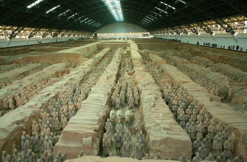 Археологам удалось восстановить лишь 8 тысяч воинов.