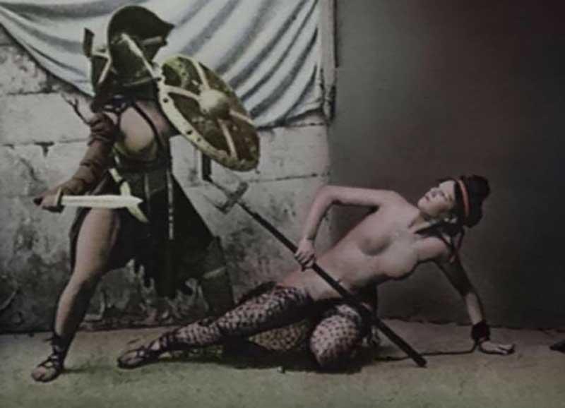 Женщин использовались не только для проведения битв, но и как сексуальные объекты для элиты Рима.