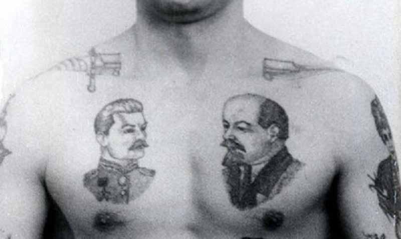 В советское время татуировки не находили особого одобрения у общества.