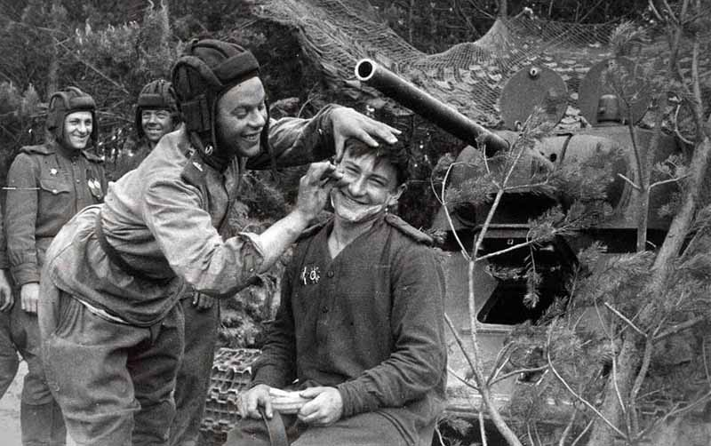 Гигиена и питание солдатов вов