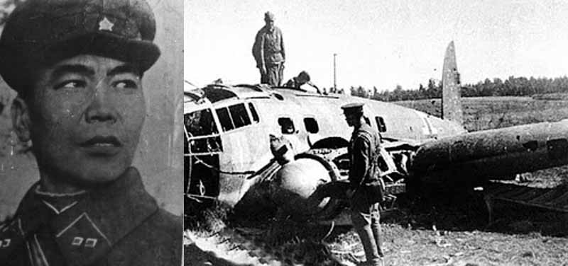 Етобаев Арсений — советский снайпер, которому удалось из винтовки сбить два вражеских самолета.