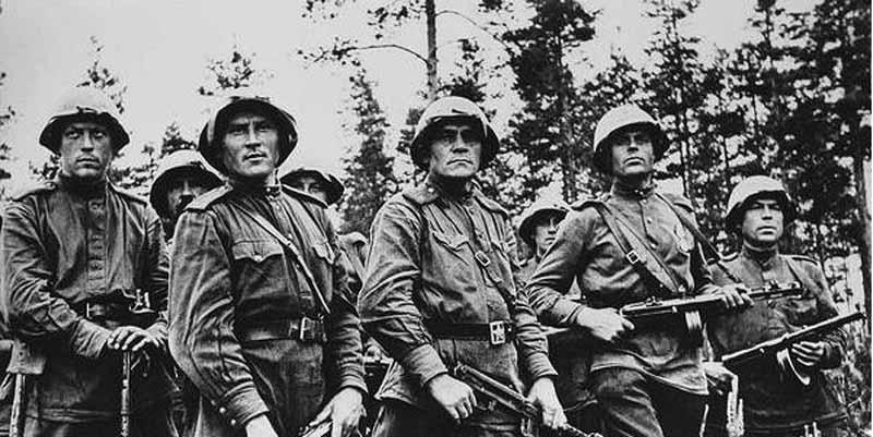 в 1941-м году огромное количество уголовных элементов отправили на фронт