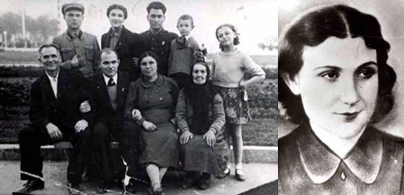 Татьяна вместе со своим отцом вошли в диверсионно-разведывательную команду под руководством члена горкома партии Владимира Кудряшова. Там она познакомилась с Георгием Левицким, с которым у них завязался роман.