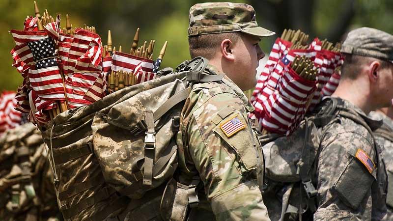 США  Американцы принимали участие во многих боевых действиях.