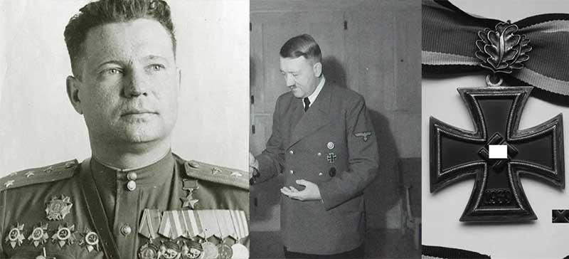 Награда Федерову от Гитлера
