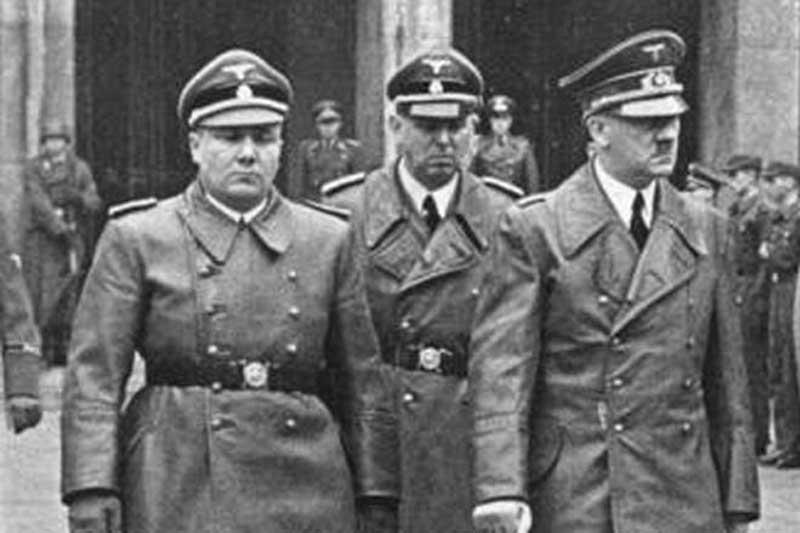 Мартин Борман был единственным, кому обвинительный приговор вынесли заочно, в зале заседания его не было.