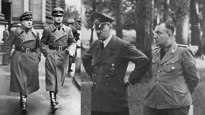 Посчастливилось поймать одного из тех, кто был с Борманом, — Артура Аксмана.