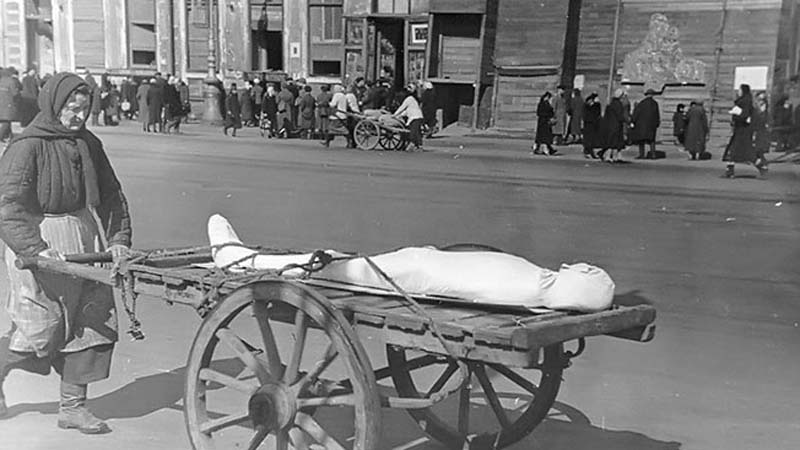 Во время ВОВ жители Сталинграда из-за осады терпели адские условия жизни.