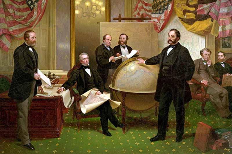 Весной 1867-го года две крупнейшие мировые державы, Российская империя и США, подписали договор о продаже земель Аляски американскому государству