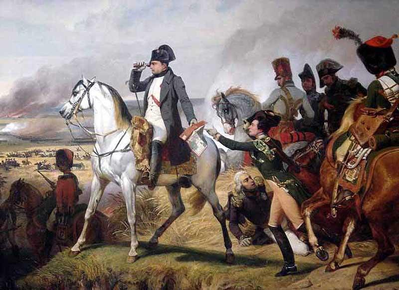 стереотип, что Наполеон – коротышка, возник из-за его окружения.