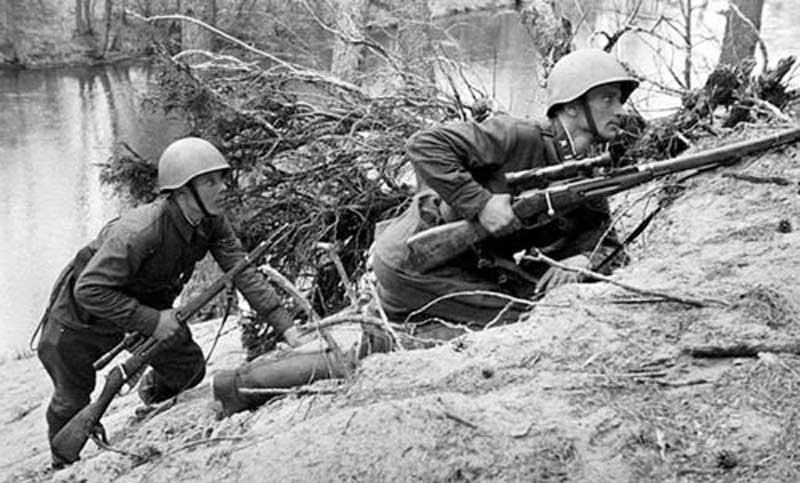 Нелюбовь солдат к снайперам