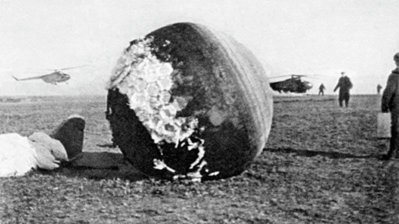 Гагарина на поверхность земли с риском для жизни были секретными много лет.