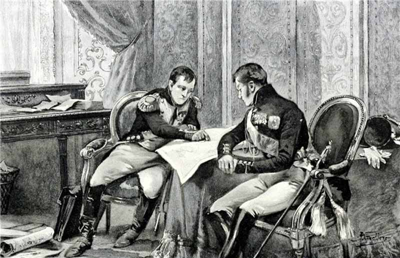 Наполеон Бонапарт и Александр 1