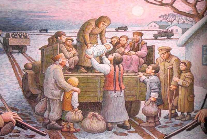 В результате Сталин принял решение о том, чтобы упразднить Калмыцкую автономию и депортировать все коренное калмыцкое население