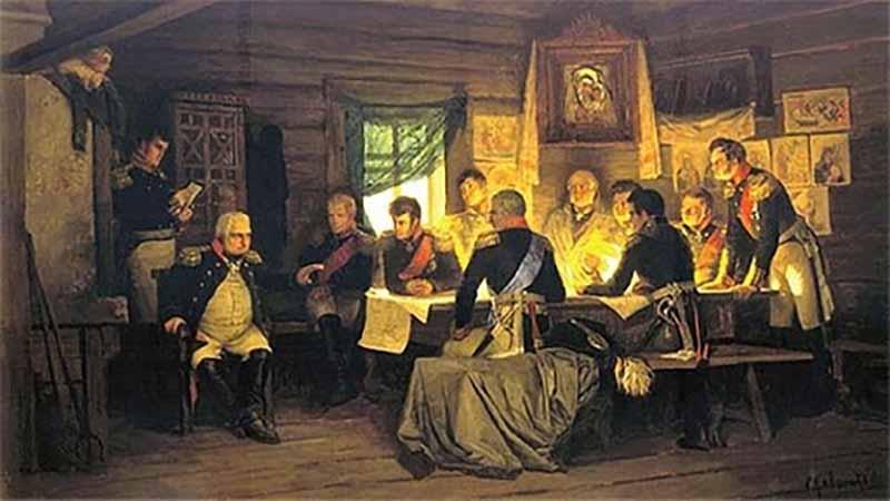 В тридцатых годах прошлого века, а затем и в начале ВОВ Кутузова и Суворова снова возвели в статус официальных национальных героев.