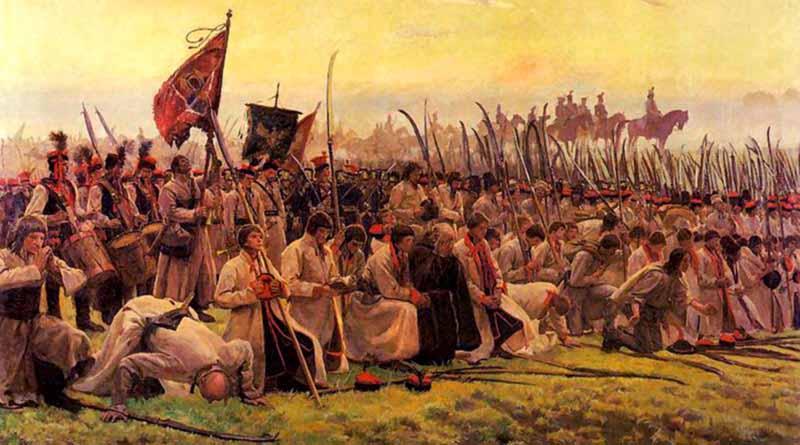 Участие в уничтожении независимости Польши