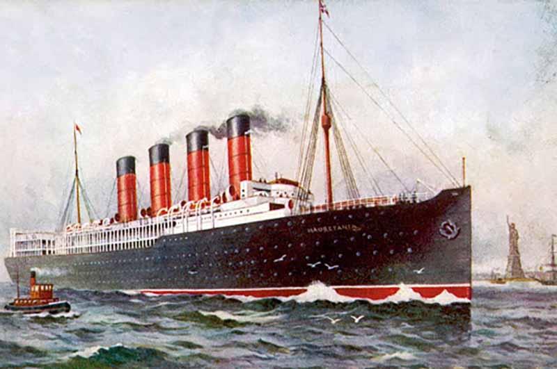 В начале мая 1915 года из нью-йоркского порта вышел круизный лайнер «Лузитания» в ливерпульском направлении.