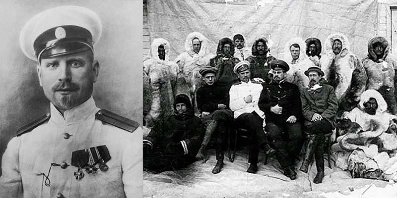 Георгий Седов, старший лейтенант флотилии, поставил себе целью достижение Северного полюса