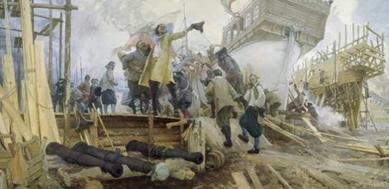 Подготовка мадагаскарской экспедиции Петра Первого