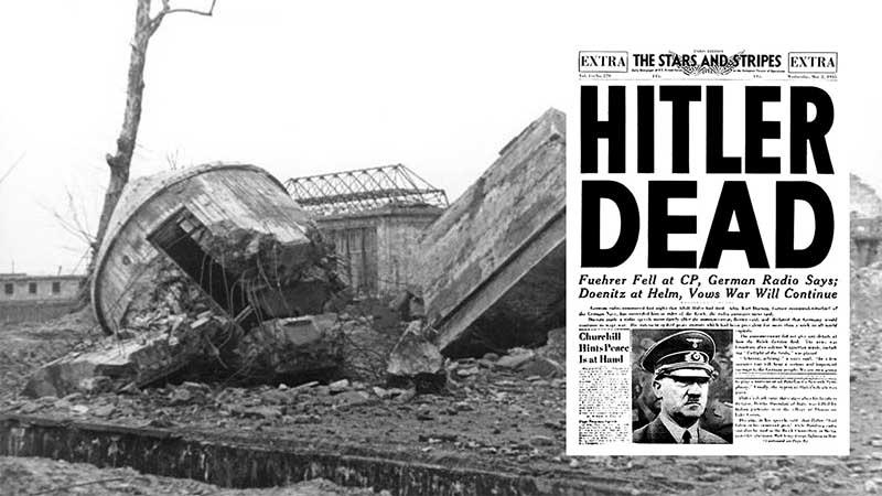 уничтожить останки Адольфа Гитлера требовалось по той причине, что много лет не утихали слухи о том, что фюрер жив.