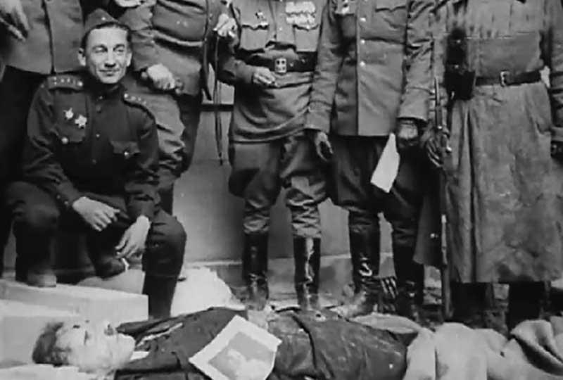 Тела нацистского лидера и Евы Браун были перезахоронены несколько раз