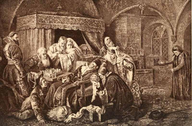 гибель Ивана-младшего