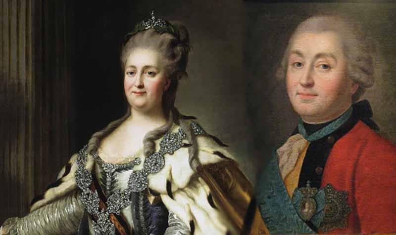 Графу и императрице обвенчаться не удалось.