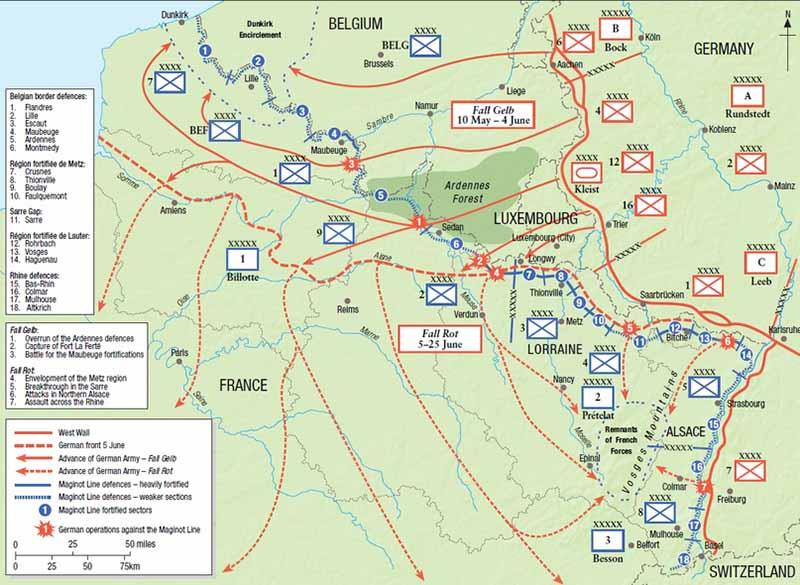 В начале Второй мировой войны у Франции было столько самолетов и танков, что она уступала по их количеству только Германии и Советскому Союзу.