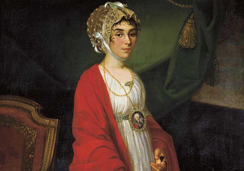 жена графа Николая Шереметьева