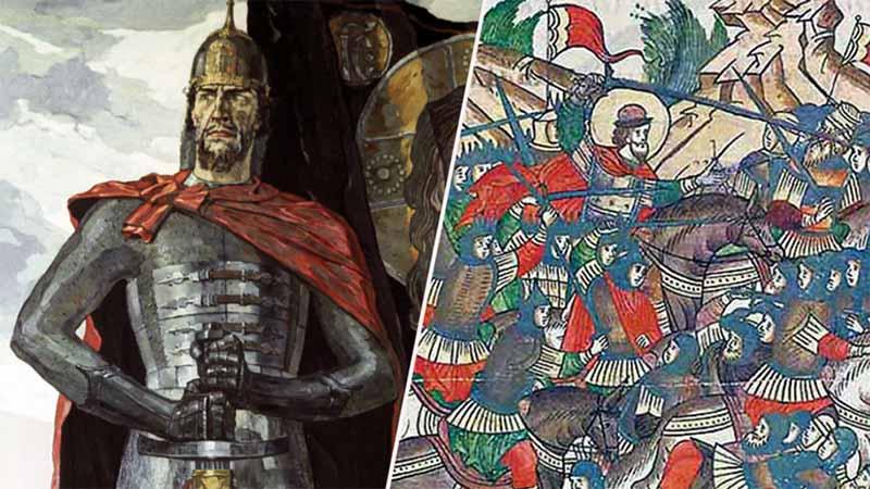 Через сотни лет и битву, и самого князя стали называть Невскими.